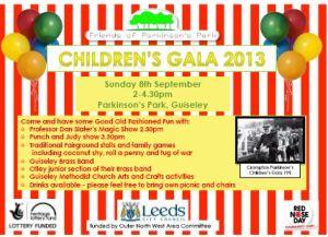 Children's Gala Invitation
